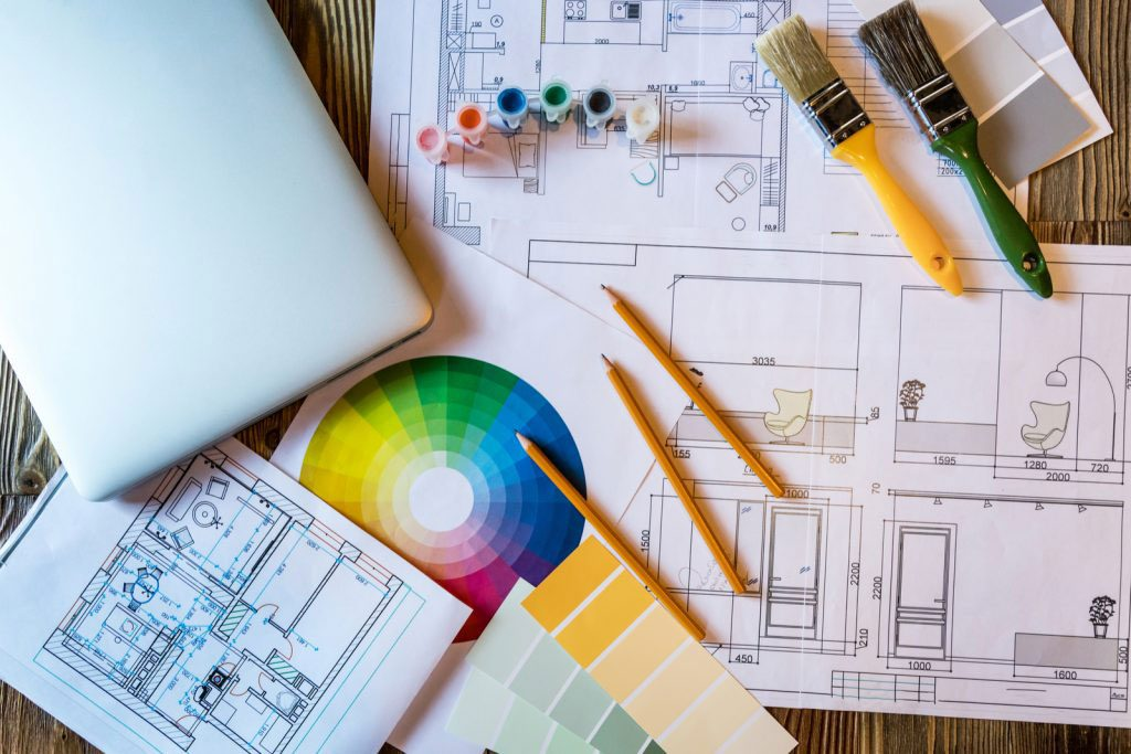 arquitectura de diseño de interiores