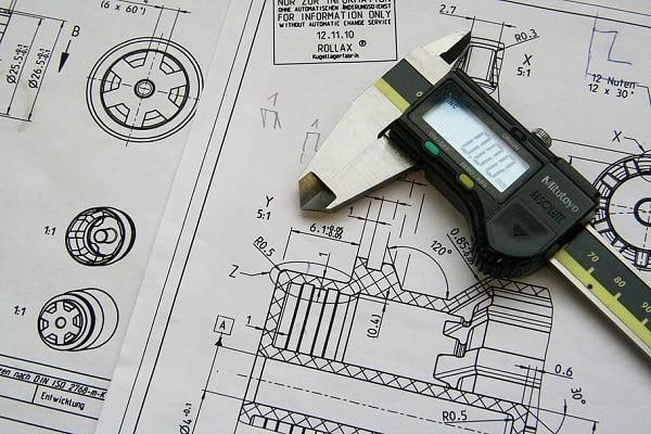 El calibrador en arquitectura